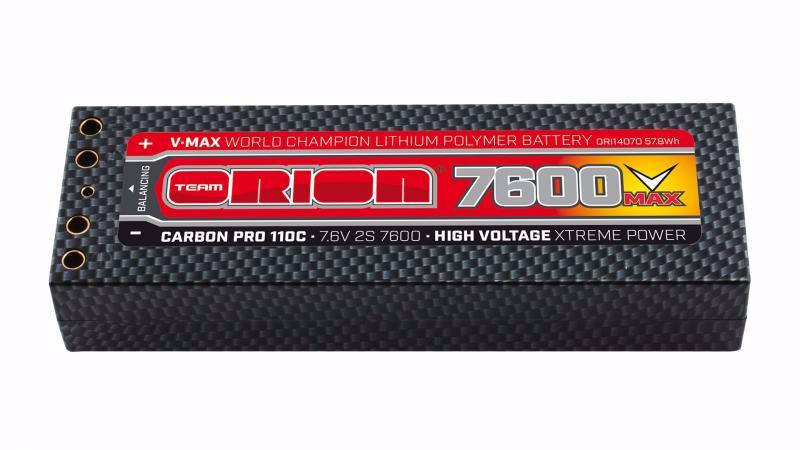 Carbon Pro V-Max 110C LiPo accu's  | Team Orion