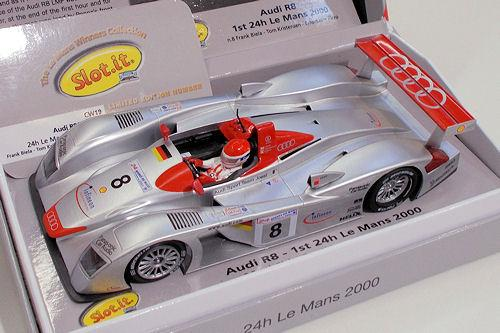 Audi R8 LMP #8 1st | Slot.it