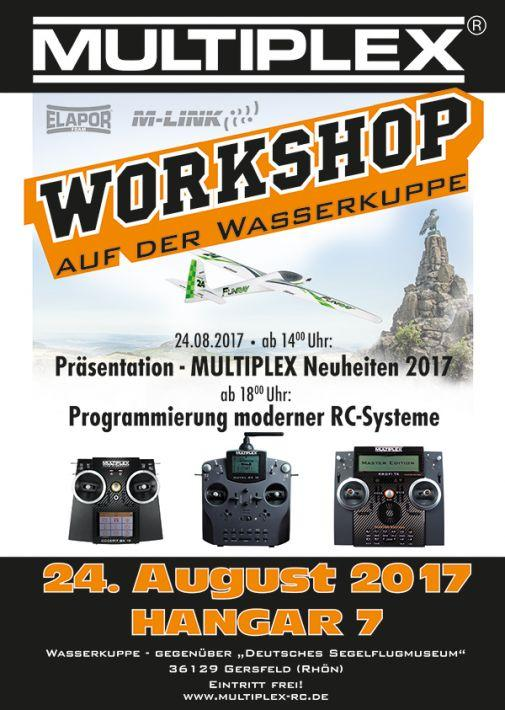 WORKSHOP Zenderprogrammeren  | Multiplex