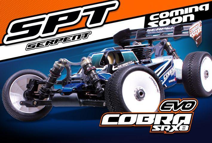 Cobra SRX8-EVO 1/8 buggy | Serpent