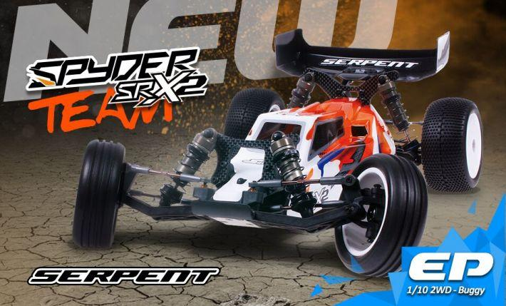 Spyder SRX2 Team Edition | Serpent