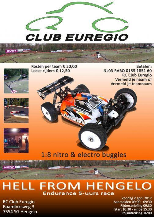 Endurance 5-uurs race | RC Club Euregio - Hengelo