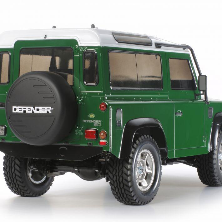 Land Rover Defender 90 | Tamiya