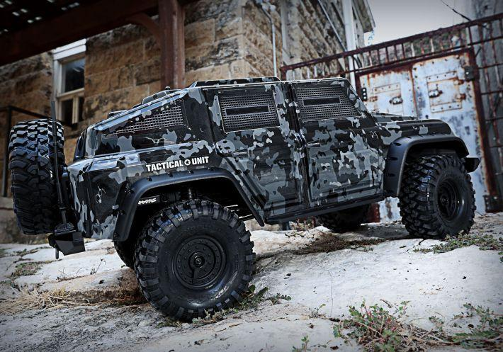 TRX4 Tactical Unit | Traxxas