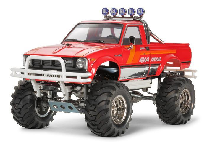 Toyota 4x4 Pick-Up Mountain Rider | Tamiya