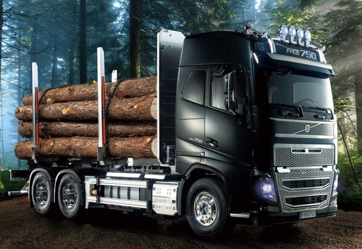 Volvo Globetrotter FH16 6x4 Timber Truck | Tamiya
